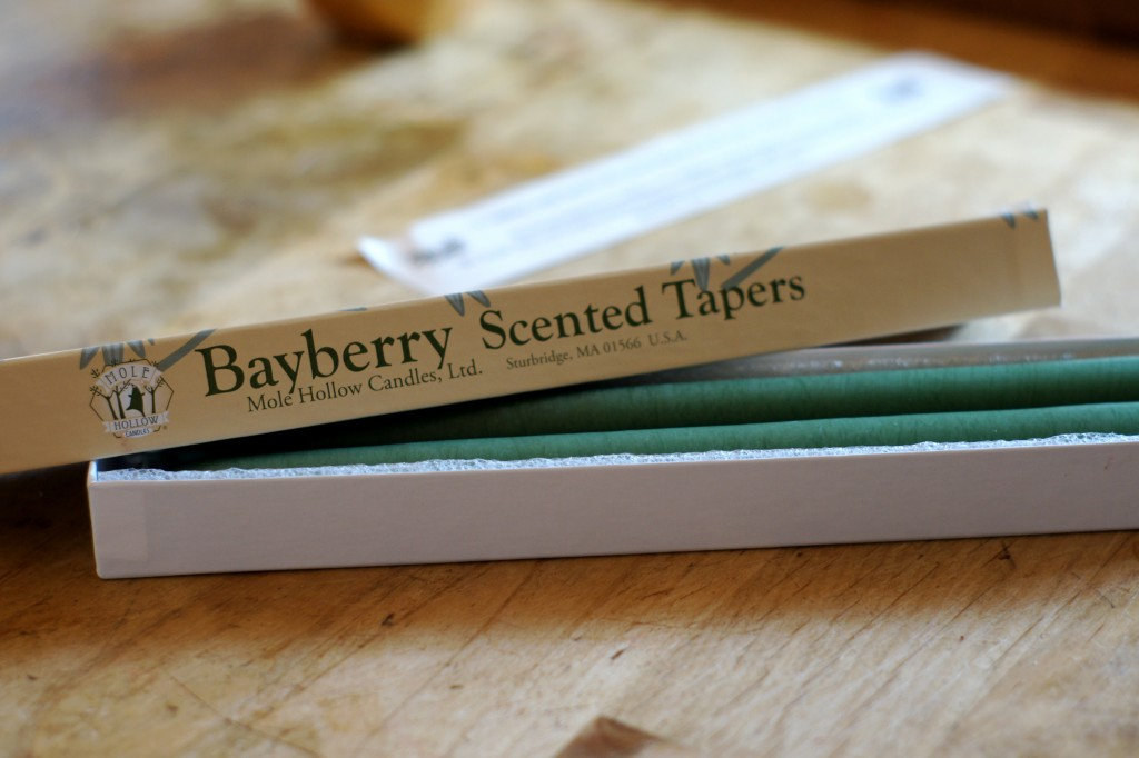 Bayberry Candles for Solstice